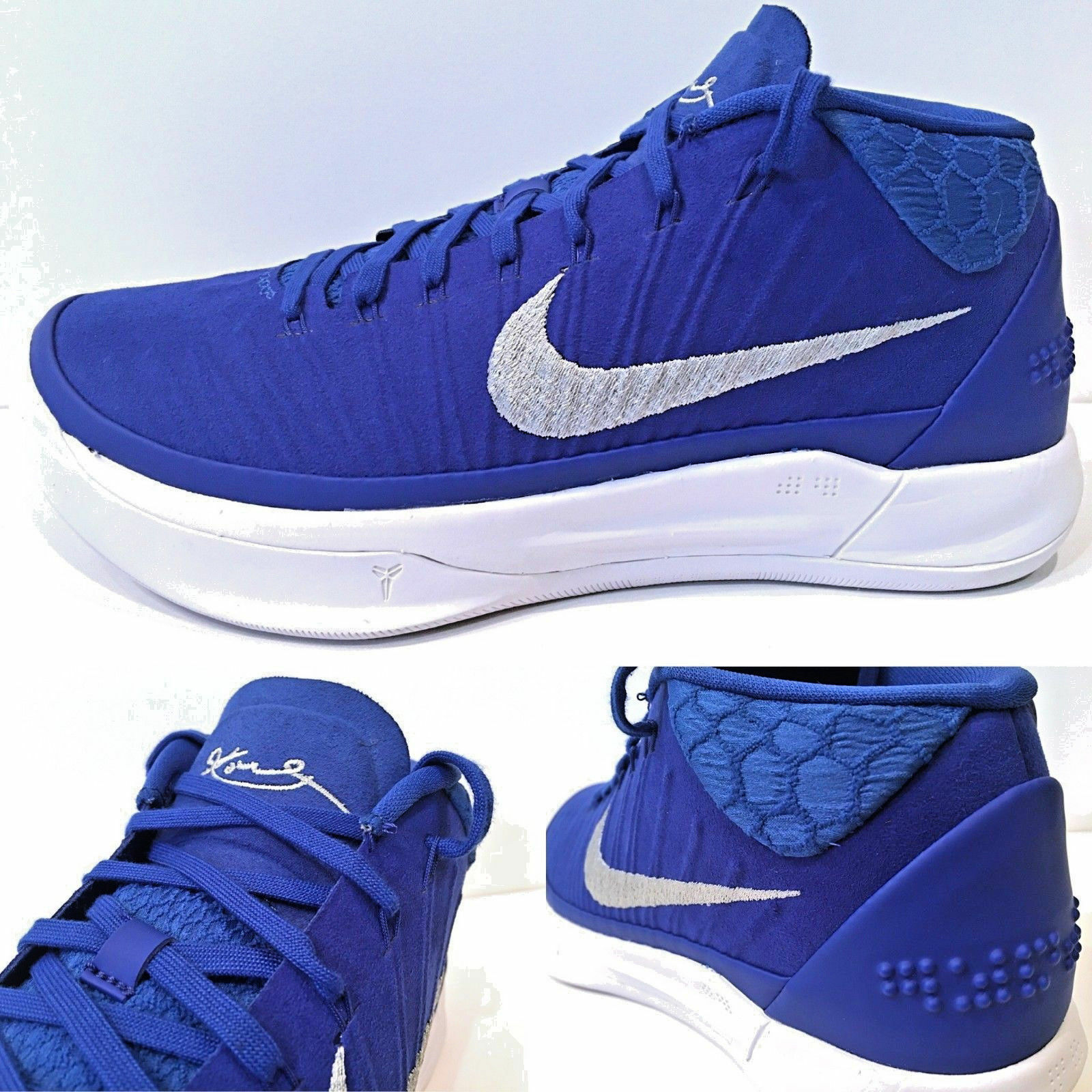 6cd543db8f3e Nike Kobe A.D. TB Game Royal White White White Basketball Shoes 942521-400  USA Men s