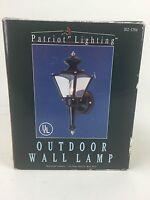 Patriot Lighting Exterior Outdoor Wall Lamp Lighting Fixture Fast Free Ship