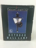 Patriot Lighting Exterior Outdoor Wall Lamp Lighting Fixture Fast Free Ship