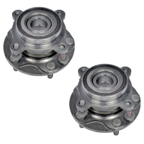 4WD PAIR Front Wheel Hub Bearing Assembly Fit TOYOTA TUNDRA 2007-2016