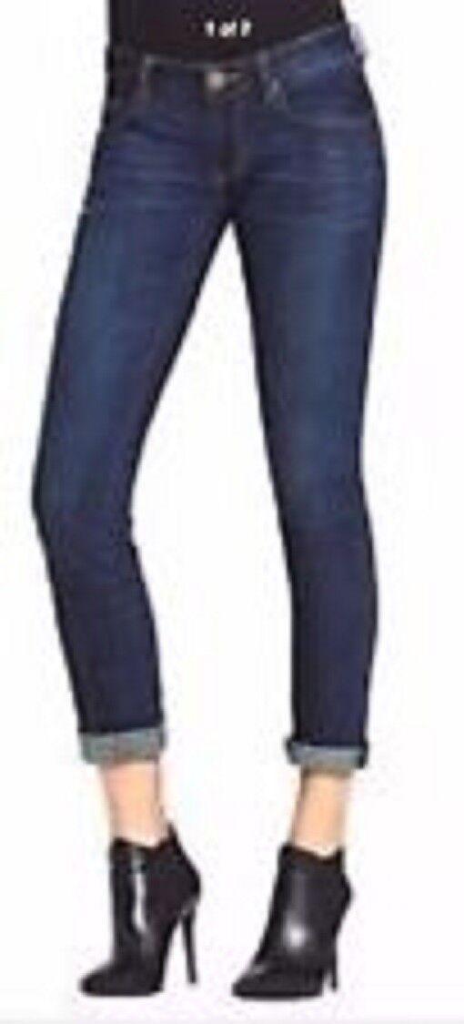 Cabi Comet Wash Tapered Leg Boyfriend Jeans Size 4  108 Cotton Blend