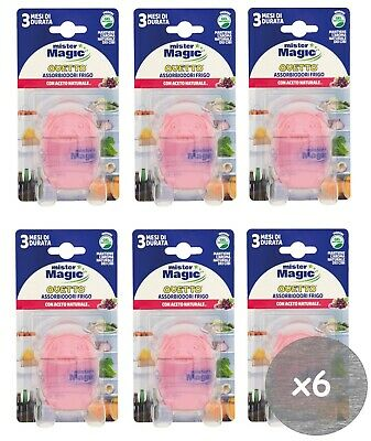 MISTER MAGIC OVETTO ASSORBIODORI FRIGO LIMONE 3 MESI 40 G PULCINO CAD. 3PZ