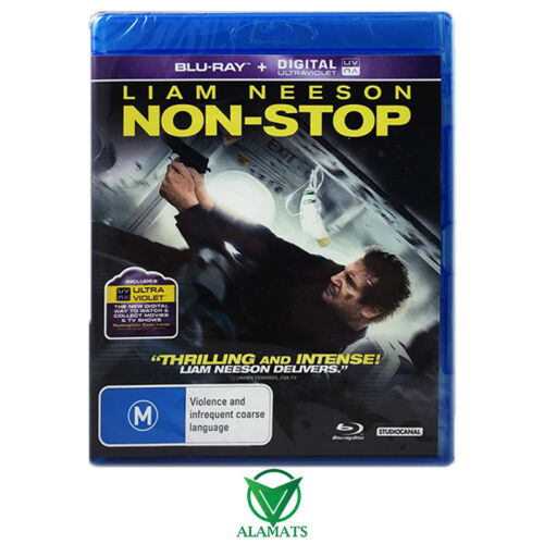 1 of 1 - Non-Stop (Blu-ray) Liam Neeson - Juliane Moore - Action Thriller