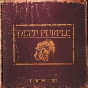 Deep-purple-Live-in-Europe-box-set-concert-datant-de-1993-4-CD-NEUF