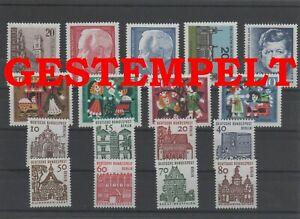 Germany-Berlin-vintage-yearset-1964-Postmarked-Used-complete-More-Sh-Shop
