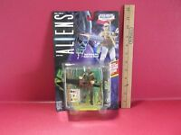 Aliens Space Marine Bishop Android 4.5in Figure W/gatling Gun Kenner 1992
