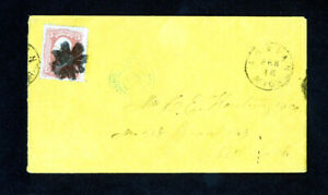 US-Cover-Advertising-w-Grilled-Stamp-w-real-fancy-cancel