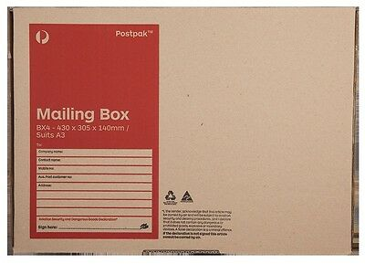 Australia Post eBay Flat Rate Mailing Box (Bx4 20 pack)