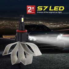 60W 6400LM/Set Car Headlight H3 COB LED Fog Light Lamp Upgrade Bulb Beam Kit