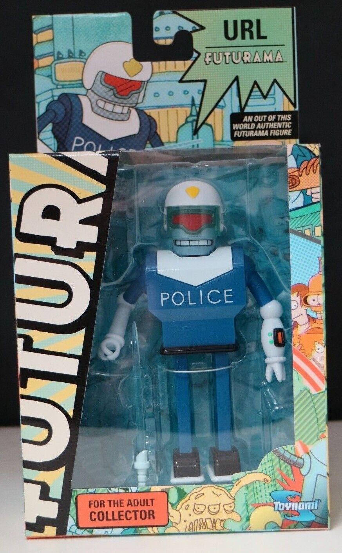 Futurama URL Police Officer Action Figure Series 9 Toynami