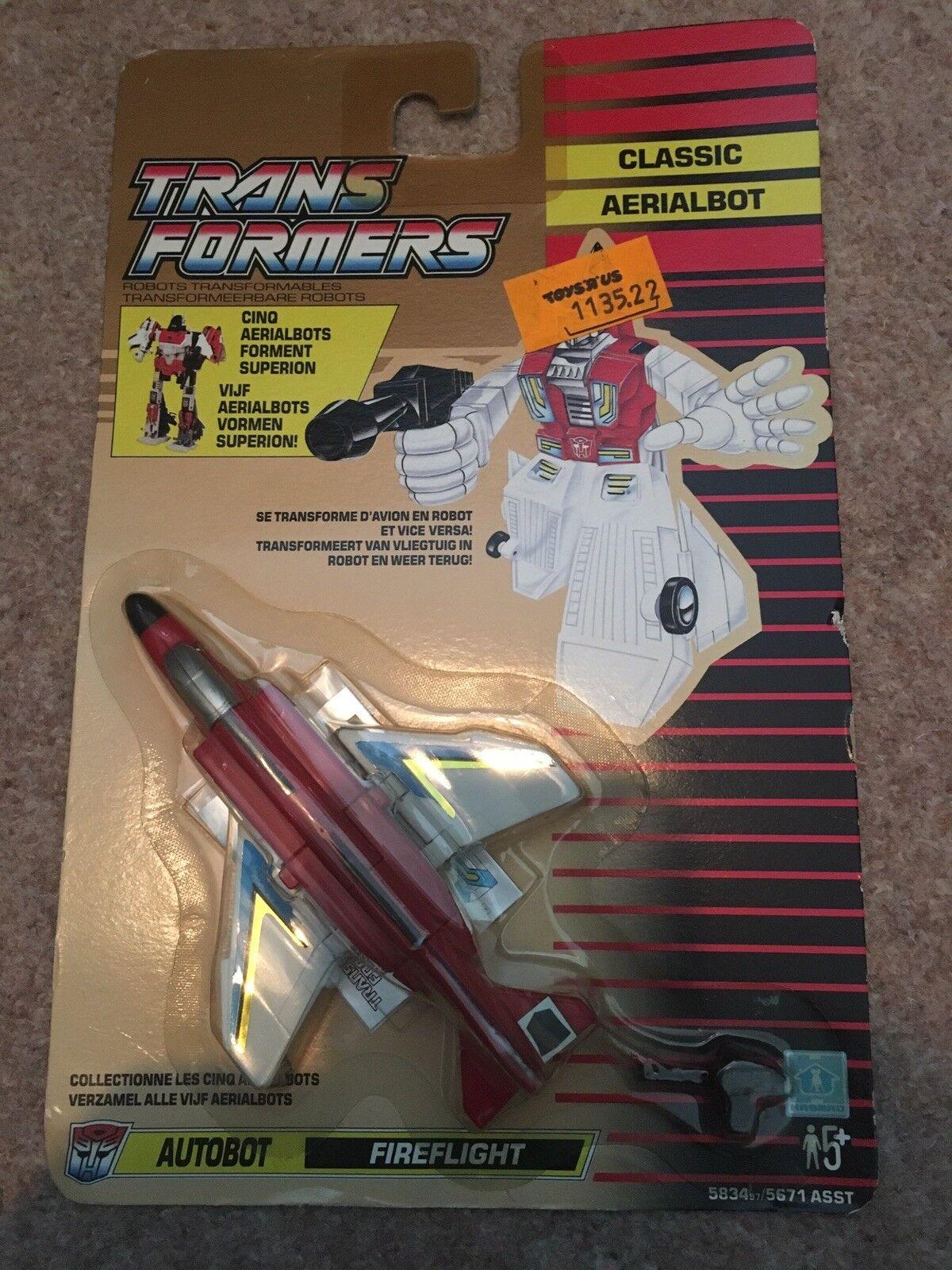 Transformers Classic Aerialbot Fireflight Retro Figure 1991 French Dutch autobot