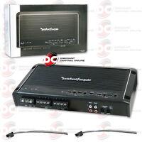 ROCKFORD FOSGATE R300X4 CAR AUDIO 4-CHANNEL CLASS AB AMP AMPLIFIER 300W RMS