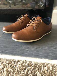 Sonoma-Men-039-s-Size-8-5-Lace-Up-Derby-039-s-Brown-Casual-Shoes