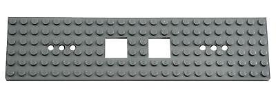 6x24 Eisenbahn Waggon Platte dunkelgrau 6077826 3 Stück LEGO®  Nr