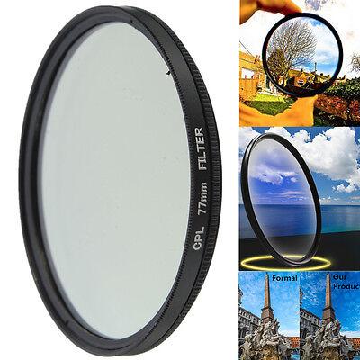 Universal Slim 77mm CPL Circular Polarising Polarizing Polariser CPL Filter