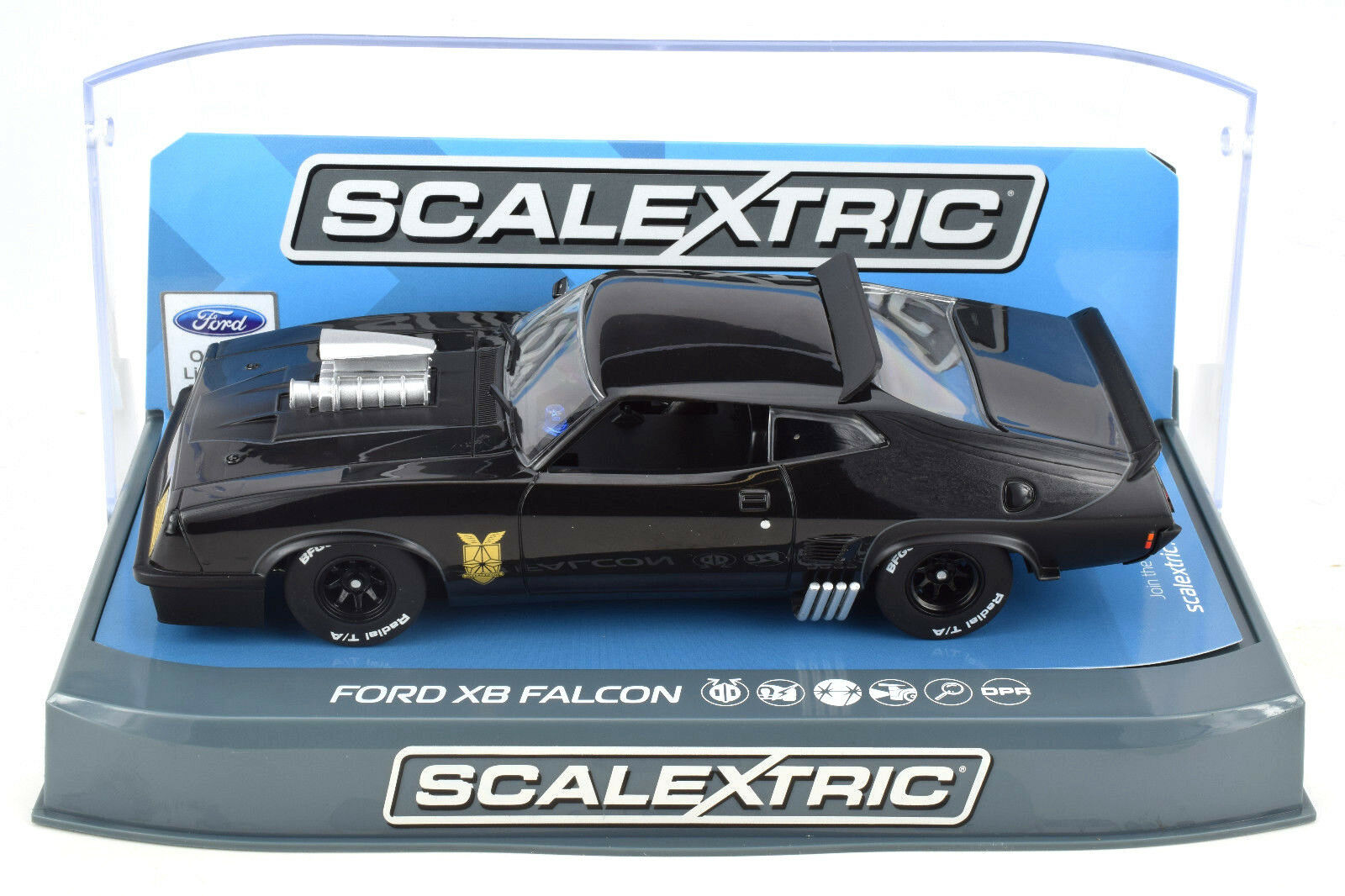 Scalextric Mad Max Ford XB Falcon DPR W  Lights 1 32 Slot Car C3697