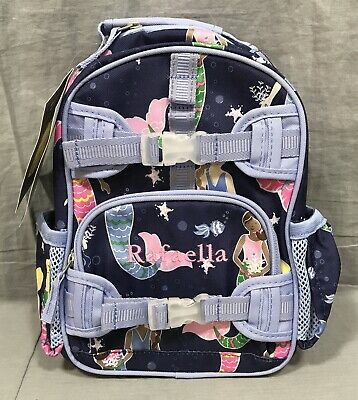 Pottery Barn Kids Navy Mermaids Mackenzie Mini Backpack