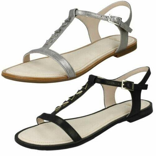 Ladies Clarks Casual Flat Sandals Sail
