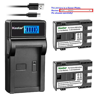 HF R100 Full HD Camcorder Battery Charger for Canon VIXIA HF R10 HF R11
