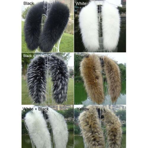 Women/'s Fashion Faux Fox Fur Collar Scarf Shawl Collar Wrap Stole Scarves HS