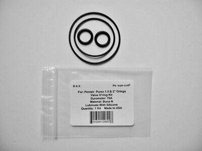 """Pentair Purex 1.5 /& 2/"""" Ortega Valve O-Ring Kit R/&S 030-112P"""