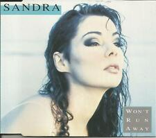 Enigma SANDRA Won't Run Away w/ EDIT & 3 RARE MIXES CD single SEALED USA seller