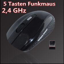 2.4 GHz USB Wireless Kabellos Optische Funkmaus Mouse Notebook PC Computer Maus