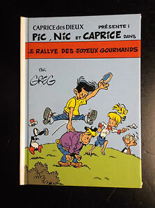 Pic-Nic-et-Caprice-Greg-Mini-album-cartonne-Caprice-des-Dieux