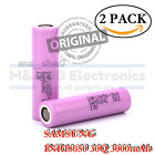 2x Samsung INR18650-30Q 3000mAh Rechargeable Battery for KangerTech Vape Mods