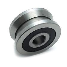 Us Stock Lv208 V Groove 8 X 30 X 14mm Ball Track Roller Guide Vgroove Bearing