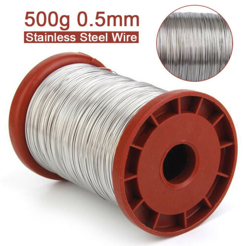 0.5mm 500G Stainless Steel Foundation Wire Roll Beehive Frames Beekeeping