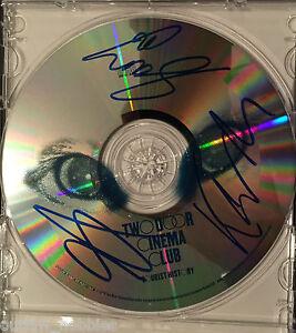 Two-Door-Cinema-Club-Tourists-History-Autographed-Signed-CD-Disc-COA-B