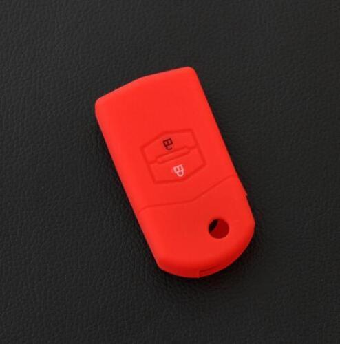 CB235 Remote Silicone Key Case For Mazda 2 3 5 6 8 CX-5 CX-7 CX-9~sky blue~✿
