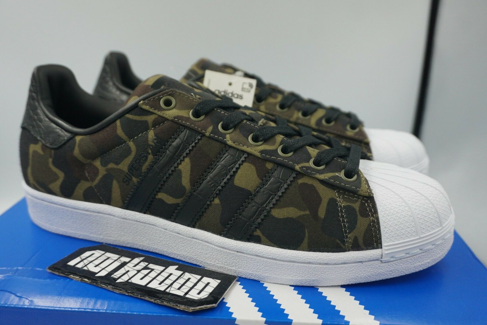 Adidas Originals Superstar Camo BB2774 canvas military new
