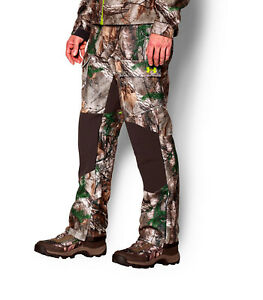 MENS-UNDER-ARMOUR-UA-STORM-GORE-WINDSTOPPER-CAMO-HUNTING-PANTS-1259191-046-260