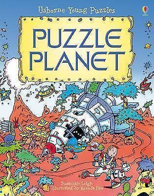 Puzzle Planet (Usborne Young Puzzles), Acceptable, Susannah Leigh, Book