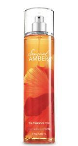 NEW-Bath-amp-Body-Works-Sensual-Amber-Fine-Fragrance-Mist-Body-Spray-8-oz