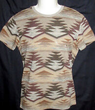 MENS AMERICAN EAGLE GEO TRIBAL CLASSIC FIT T-SHIRT SIZE M