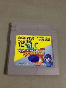 ROCKMAN-WORLD-5-Megaman-WORLD-5-Gameboy-Nintendo-Japan