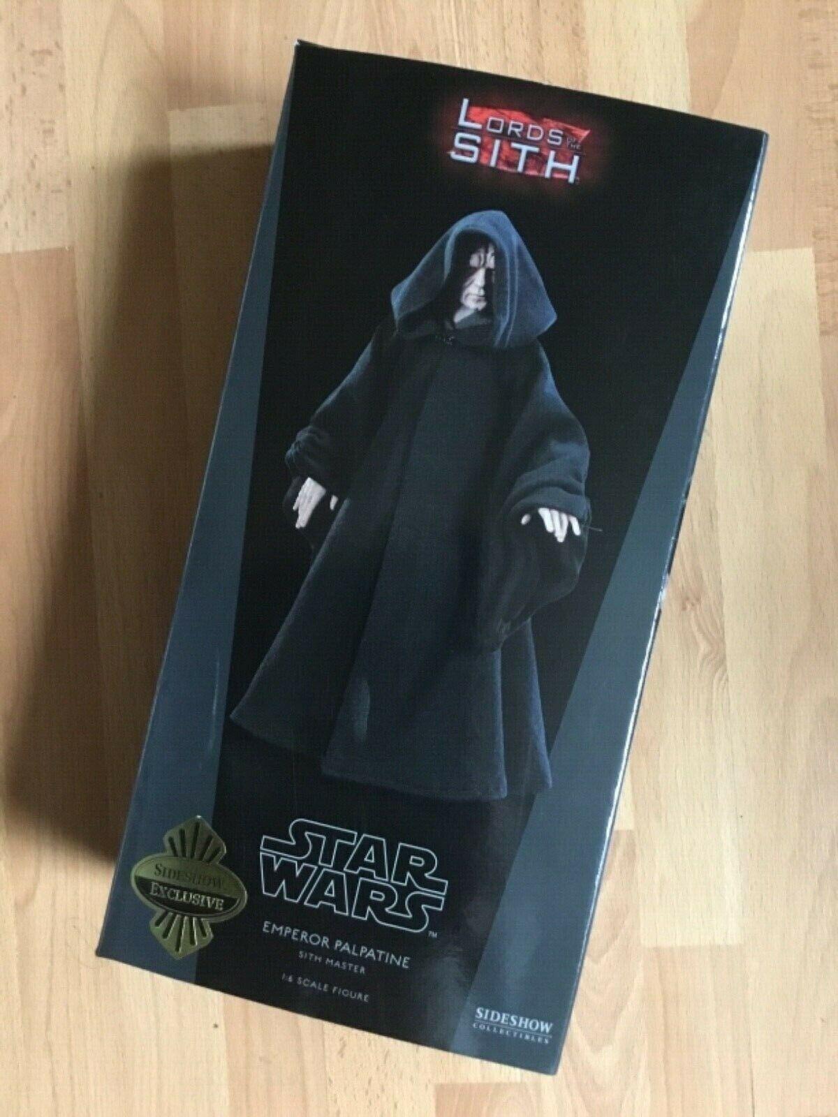 distribución global SIDESHOW Estrella WARS señores señores señores de los Sith Emperor Palpatine rojoj  entrega gratis