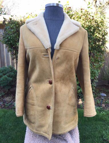 shearling coat women