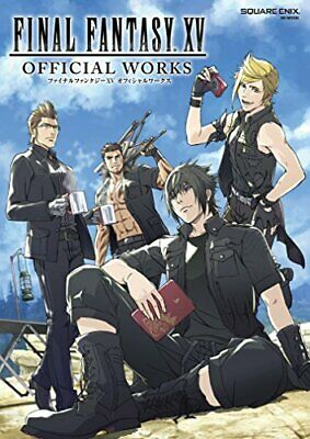 "JAPAN Square Enix Official /""Re riplai/"" W//DVD Final Fantasy Book"