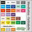 Wandtattoo-Ornament-Retro-Quadrate-Cubes-Wandsticker-Wandaufkleber-Sticker-5 Indexbild 4