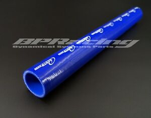 """25 MM 0.98"""" INCH SILICONE HOSE/1 METRE 4 PLY STRAIGHT SILICONE COUPLER HOSE BLUE"""