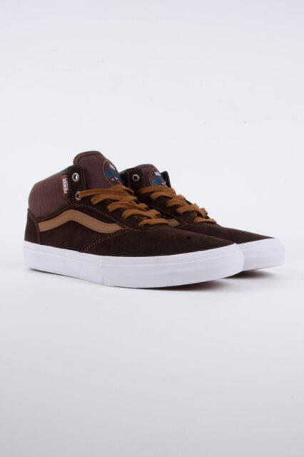 cc3c2bd18c Vans Gilbert Crockett Pro MID DEMITASSE Men s Classic Skate Shoes Size 7 NEW