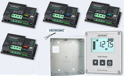 Loyal Votronic Mpp 165 250 350 430 Duo Solarregler Gehäuse solarcomputer,temp-sensor