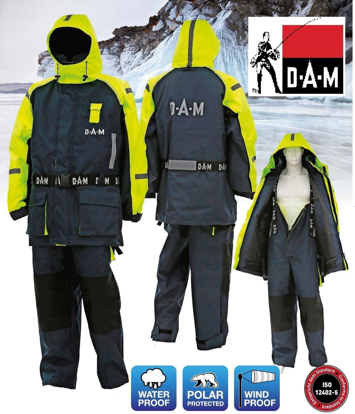 D.A.M SAFETY BOAT SUIT Floatation Fishing Suit   L - XXL Various Sizes