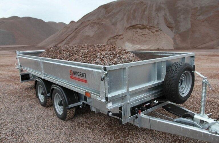 Tiptrailer, Nugent - SAGA T3718H, lastevne (kg): 2400