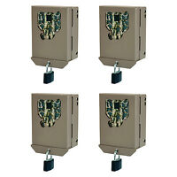 Stealth Cam Px Series Game Trail Camera Steel Security Case Box, 4 Pack   Bbpx on Sale