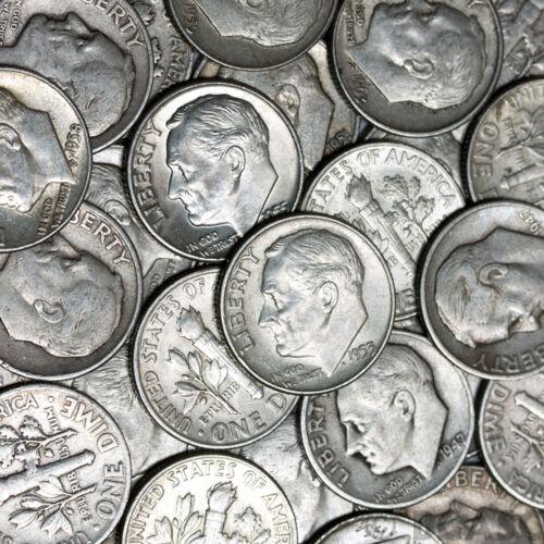 1 TROY POUND LB LOT 90/% SILVER COINS HALVES /& DIMES 1964 /& OLDER MAKE OFFER!